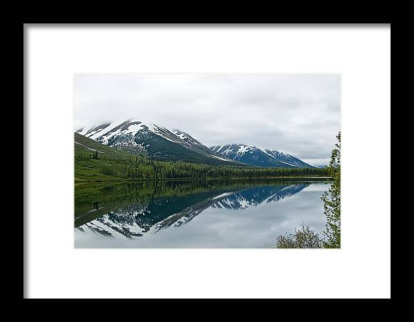 Montana Framed Print featuring the photograph Reflection Montana by Jeffrey Akerson