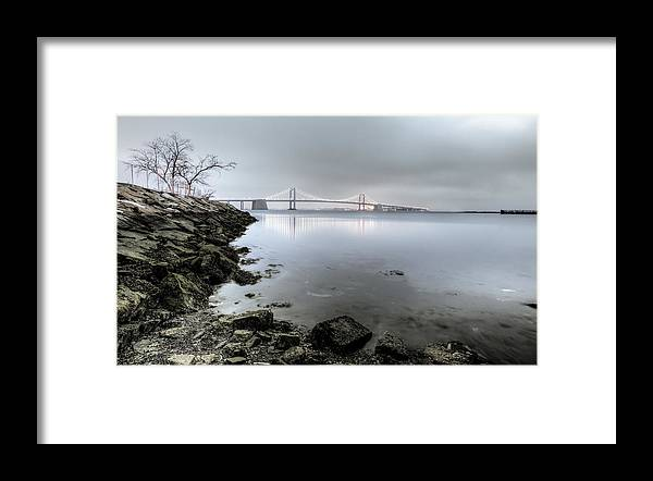 Bayside Framed Print featuring the photograph Reflections At Little Bay by David Hahn