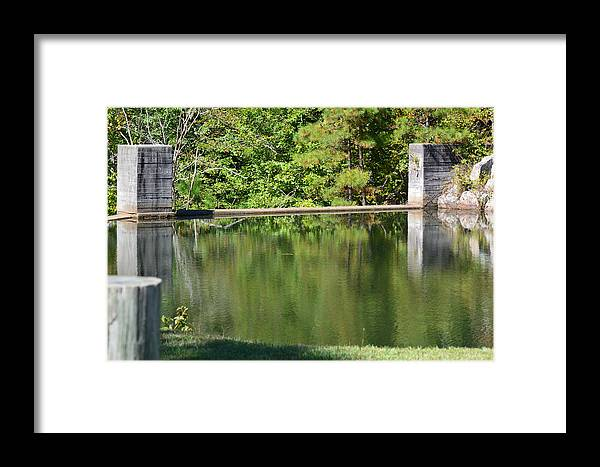 Landscapes Framed Print featuring the photograph Reflections by Barb Dalton