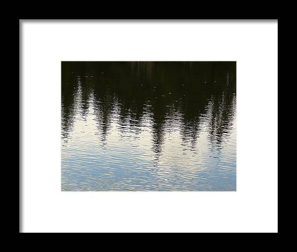 Nature Framed Print featuring the photograph Reflections by David Kehrli