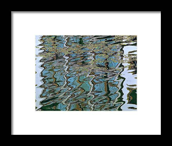 Ponte Vecchio Framed Print featuring the photograph Reflections From The Ponte Vecchio by Ira Shander