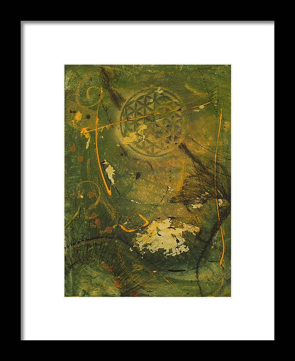 Forest Framed Print featuring the painting Reflections In The Forest by Neo Dietrich