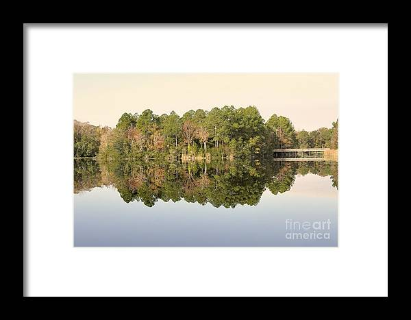 Fall Framed Print featuring the photograph Reflections by Jim Hennessey