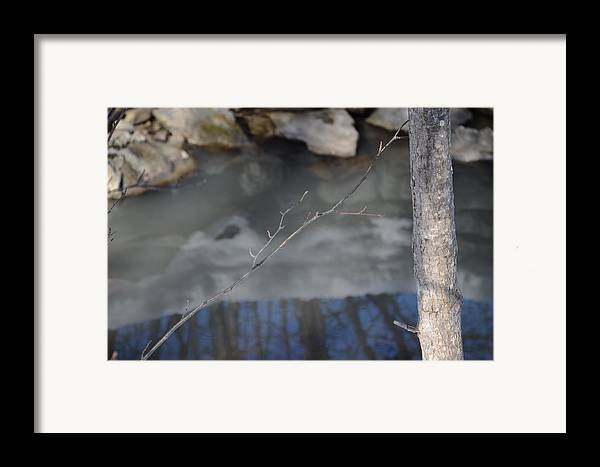 Framed Print featuring the pyrography Reflections by Vinci Photo