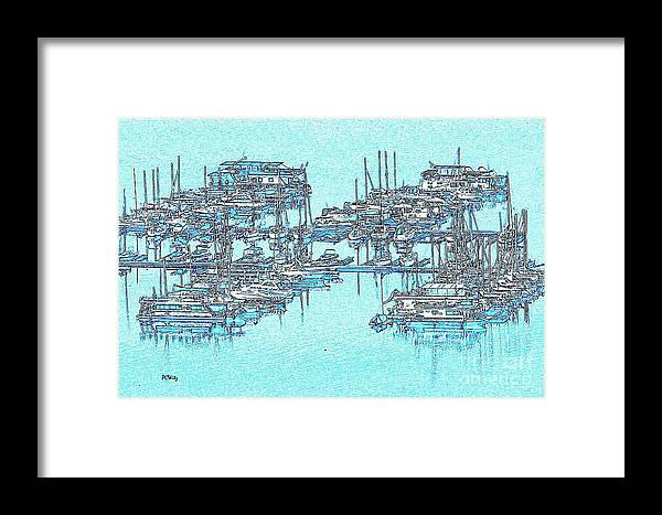 Reflective Blue Framed Print featuring the photograph Reflective Blue by Patrick Witz