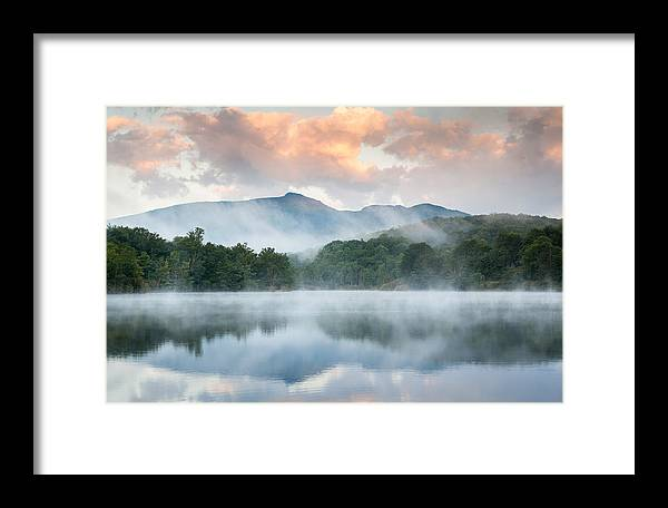 Grandfather Mountain Framed Print featuring the photograph Reflective Elder by Mark VanDyke