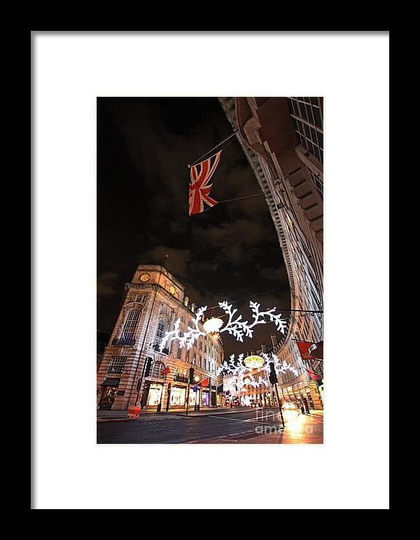 London  Framed Print featuring the photograph Regent Street London by Mariusz Czajkowski