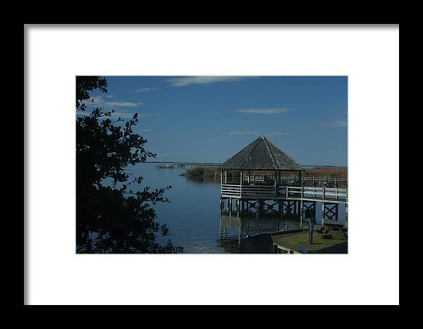 Lighthouse Framed Print featuring the photograph Relax On The Sound by Darlene Neisess