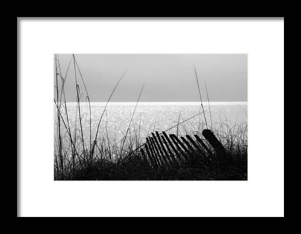 Beach Framed Print featuring the photograph Relaxing Moment by Randolph Hodges