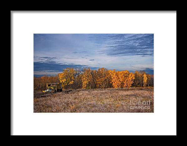 Autumn Framed Print featuring the photograph Relics Of The Past by Marcus Angeline