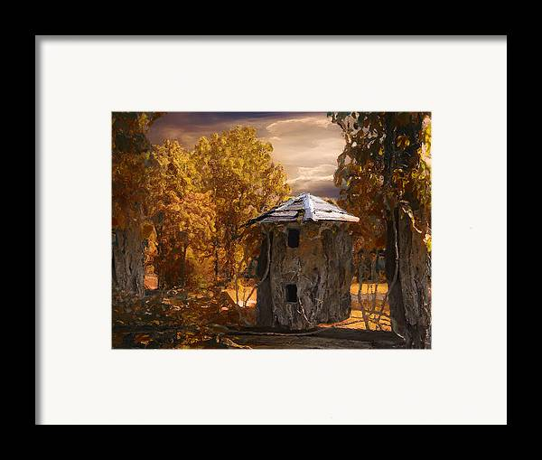 Silo Framed Print featuring the painting Remains by Jack Zulli