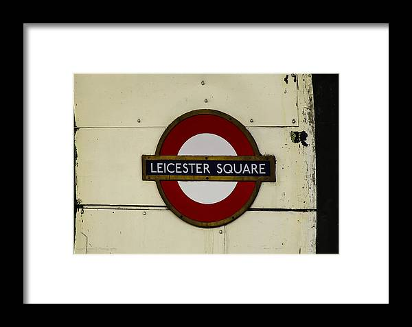 London Framed Print featuring the photograph Remember Me by Ross Henton