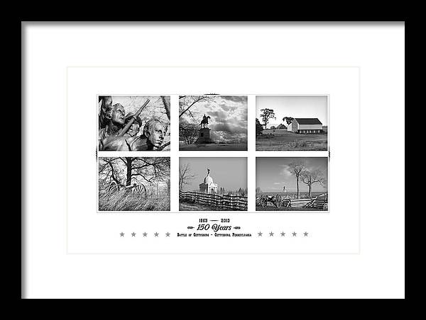 Gettysburg Framed Print featuring the photograph Remembering Gettysburg by Andy Smetzer