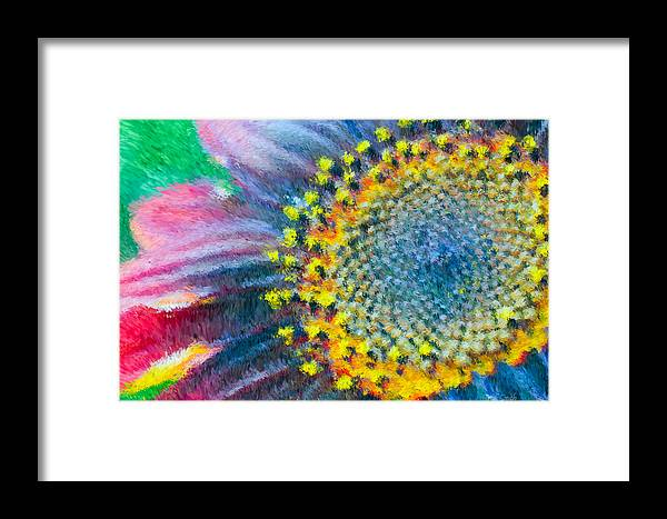 Yellow Framed Print featuring the photograph Remembering You by Heidi Smith