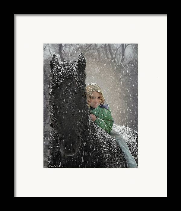 Friesian Framed Print featuring the photograph Remme And Rory by Fran J Scott