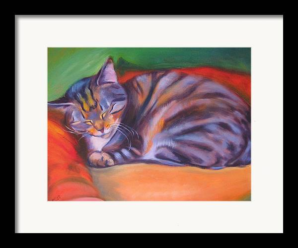 Framed Print featuring the painting Rescued by Kaytee Esser