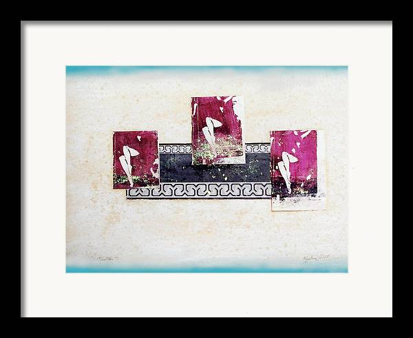 Legs Framed Print featuring the mixed media Resolution by Mary Ann Leitch