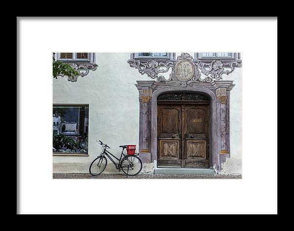 Reutte Framed Print featuring the photograph Reutte by Radka Linkova
