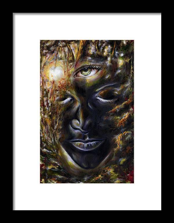 Eye Framed Print featuring the painting Revelation by Hiroko Sakai