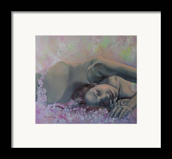 Fantasy Framed Print featuring the painting Revival by Dorina Costras