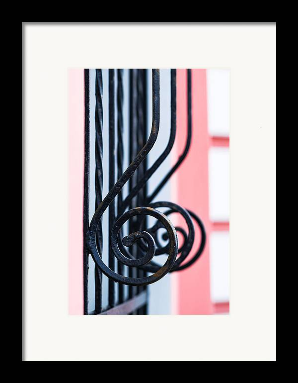 Abstract Framed Print featuring the photograph Rhythm Of Architecture - Vertical Format by Alexander Senin