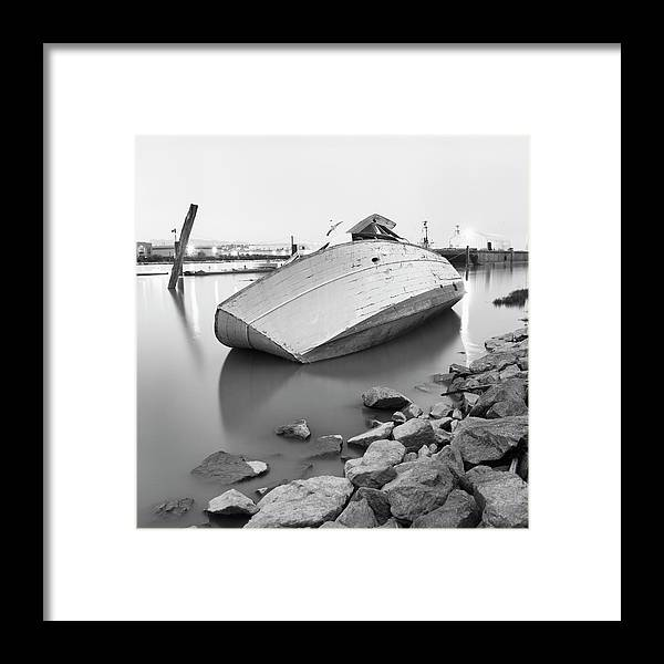 Tranquility Framed Print featuring the photograph Richmond, British Columbia, Canada by Brian Caissie