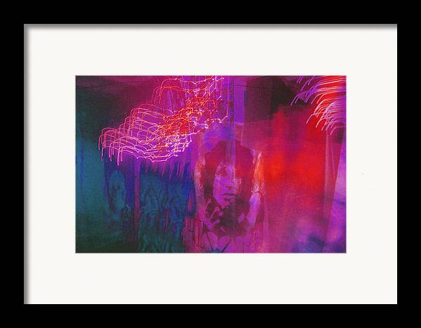 Psychedelic Framed Print featuring the photograph Riders Of The Storm by Brian Nogueira