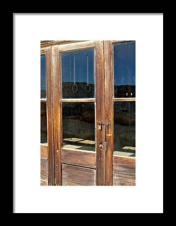 Bodie Framed Print featuring the photograph Rings by Terry DeHart