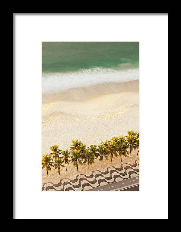 Water's Edge Framed Print featuring the photograph Rio by Jeremy Walker
