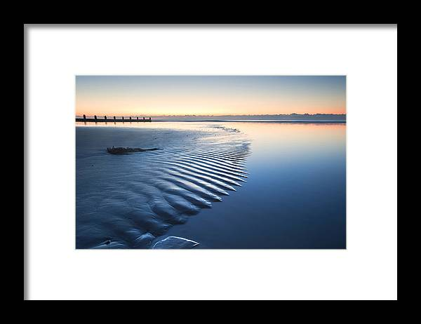 Beach Framed Print featuring the photograph Ripples by Matthew Gibson