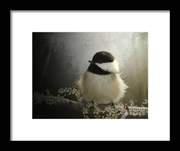 Beve Brown-clark Framed Print featuring the digital art Rise N Shine by Beve Brown-Clark Photography
