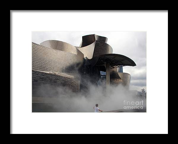 Architecture Framed Print featuring the photograph Rising Mist by Juan Romagosa
