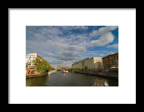 River Cruise Framed Print featuring the photograph River Cruise by Jonah Anderson