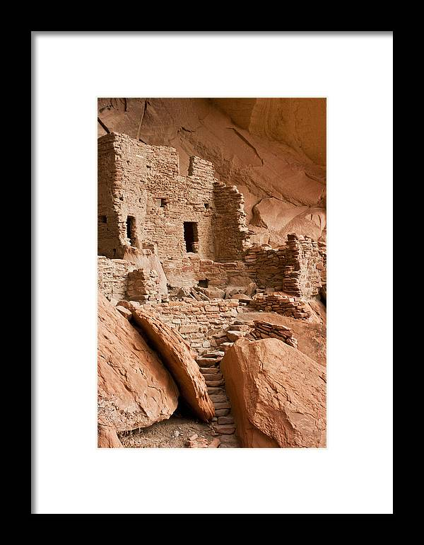 River House Ruin Framed Print featuring the photograph River House Ruin by Todd Morton