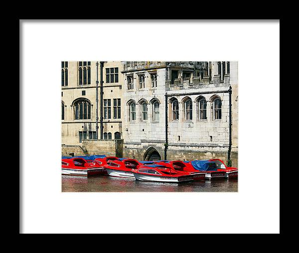 River Ouse Framed Print featuring the photograph River Ouse by Susan Tinsley