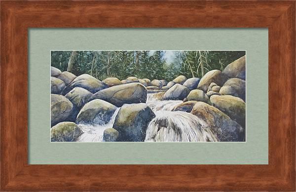 River Rocks II by Daydre Hamilton