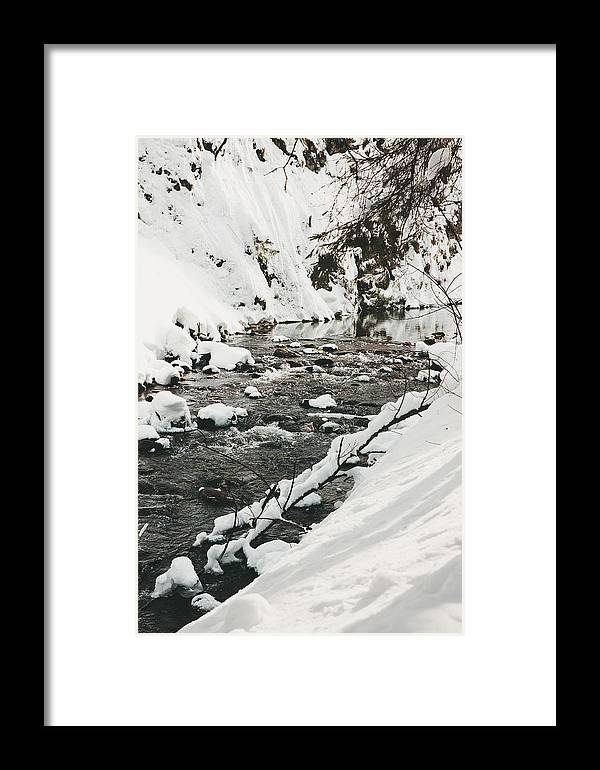 Beautiful Framed Print featuring the photograph River Vertical by Pati Photography