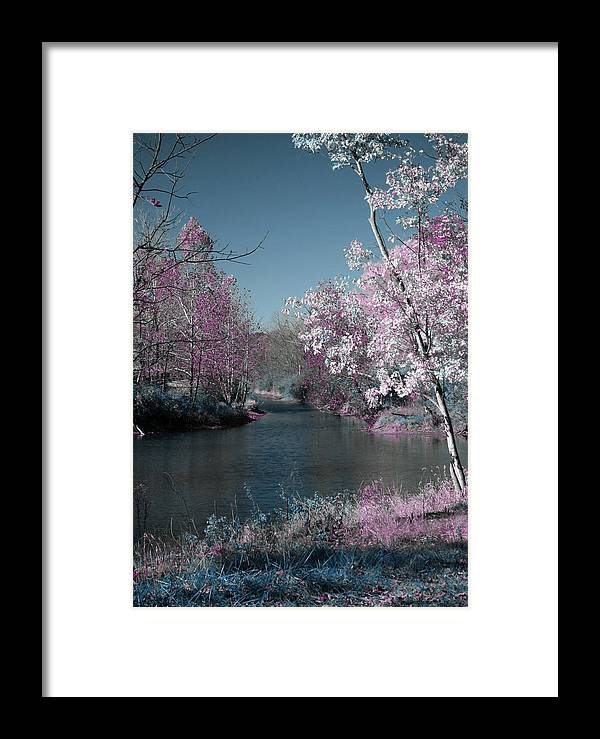 River Framed Print featuring the photograph River View by Julie Kiefer