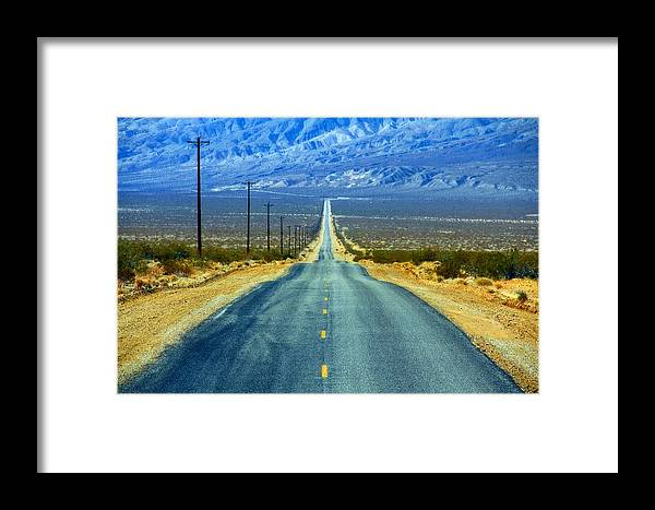 Landscape Framed Print featuring the photograph Road by Jim McCullaugh