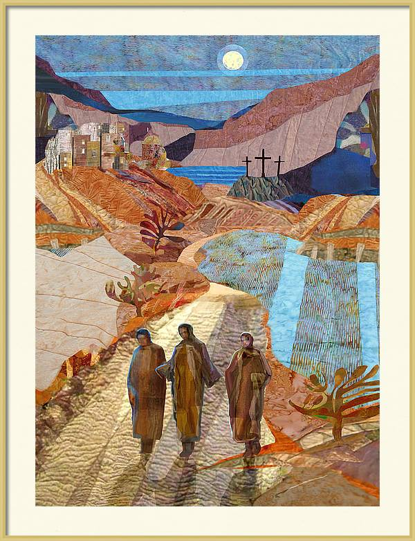 Road to Emmaus by Michael Torevell