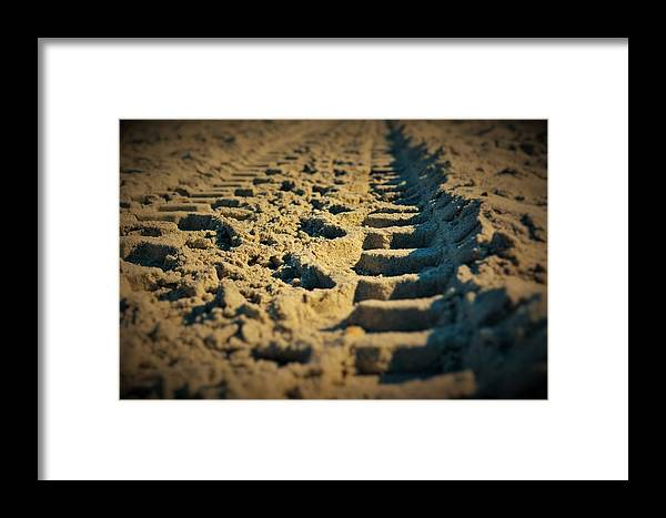 Landscape Framed Print featuring the photograph Road To Solitude by Sabasion Bentley-Dyess