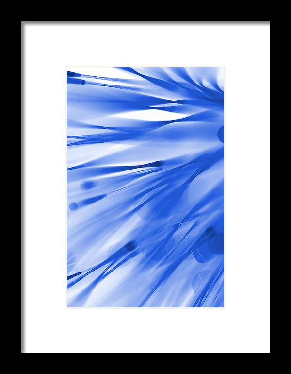 Abstract Framed Print featuring the photograph Roadhouse Blues by Dazzle Zazz