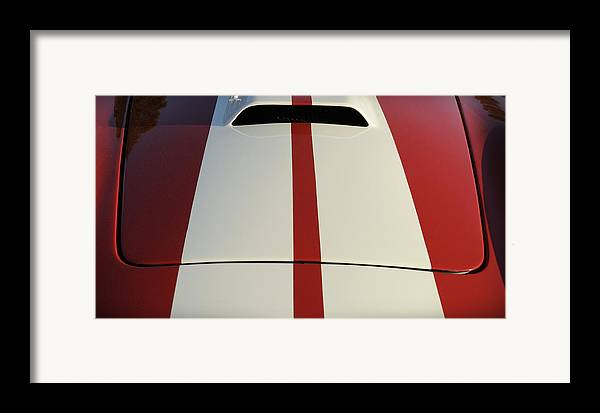 Cobra Framed Print featuring the photograph Roadster by Luke Moore