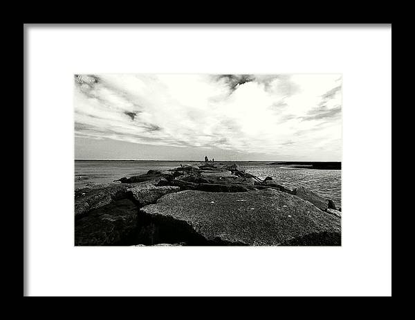 Framed Print featuring the photograph Rock by Mithun Das