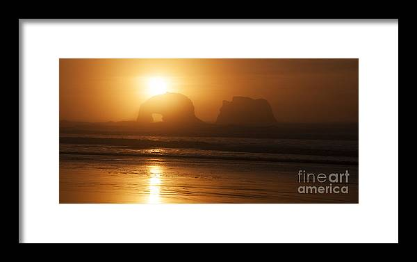 Rockaway Beach Framed Print featuring the photograph Rockaway Beach by Vivian Christopher