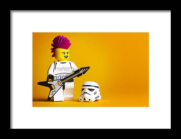 Lego Framed Print featuring the photograph Rockin' Out by Samuel Whitton