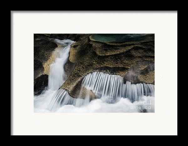 America Framed Print featuring the photograph Rocks In Paradise by Inge Johnsson