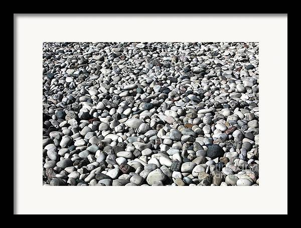 Rocks Of The Greek Framed Print featuring the photograph Rocks Of The Greek by John Rizzuto
