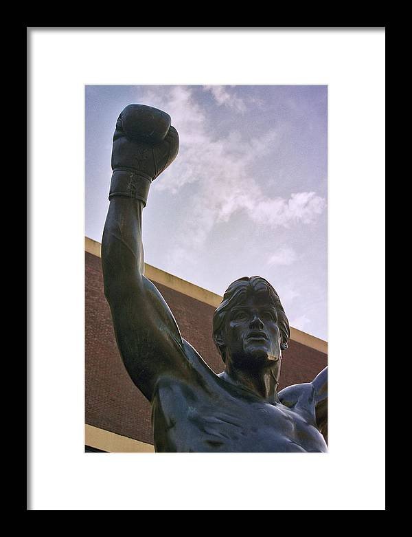 Sports Framed Print featuring the photograph Rocky 2 by Joseph Perno