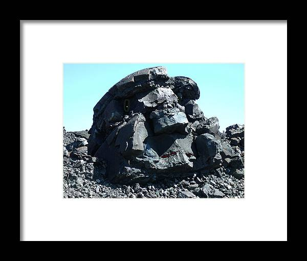 Rock Framed Print featuring the photograph Rocky by Erin Rednour
